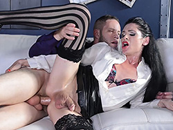 Penny and wolf Penny Tyler. Horny Penny gets make love real heavy