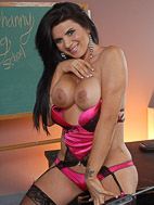 Stephany tricks. Busty Stephanys fuck machine school