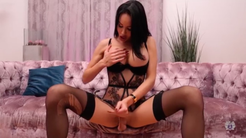 Kimberlee knows you want a peice of her thick throbbing love